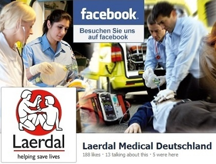 Laerdal Medical auf facebook