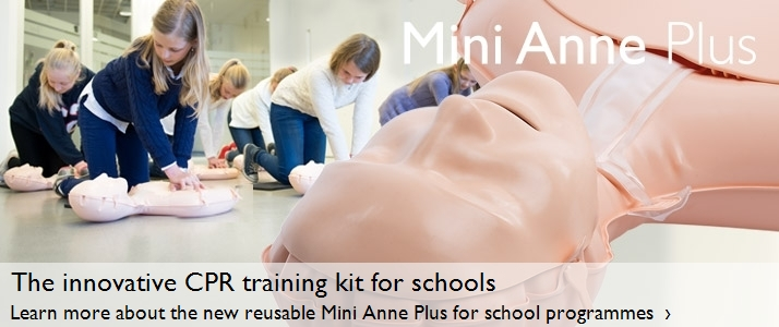The innovative CPR training kit for schools