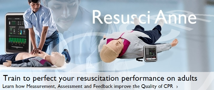 Train to perfect your resuscitation performance on adults