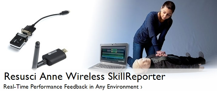 Resusci Anne Wireless SkillReporter